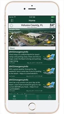 Volusia Co Emergeny management app